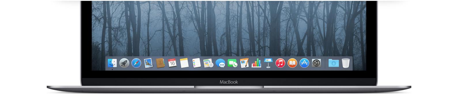 MacBook aplikacje