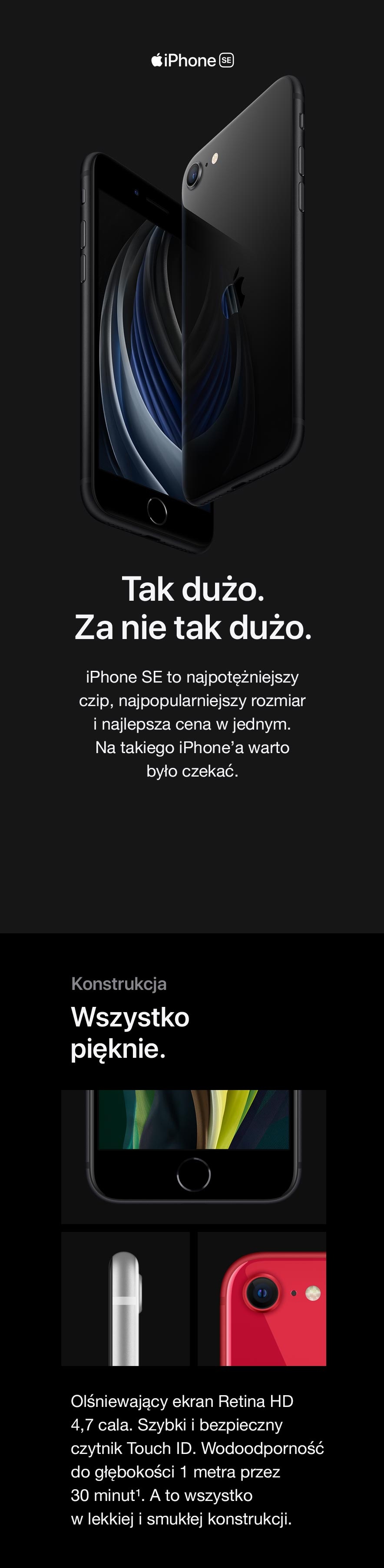 Nowy iPhone SE