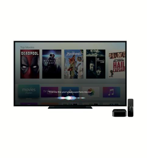 Apple TV with Siri