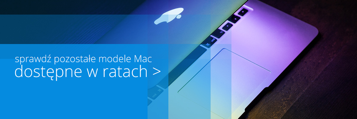 Sprawdź komputery Mac w ratach!