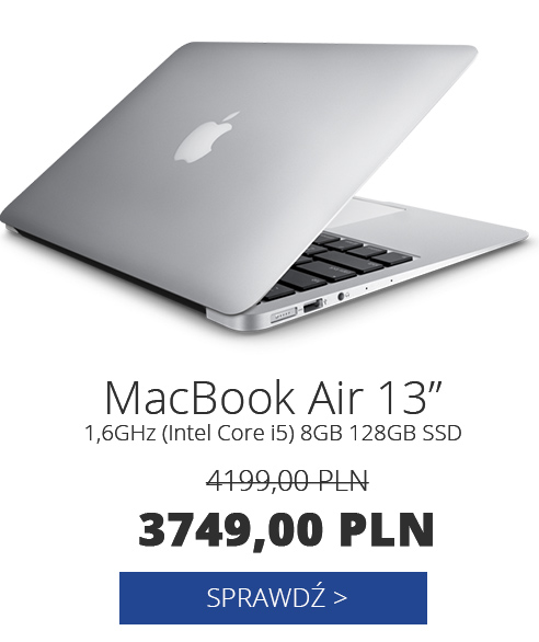 Apple MacBook Air 13' 1,6GHz(i5) 8GB 128GB SSD