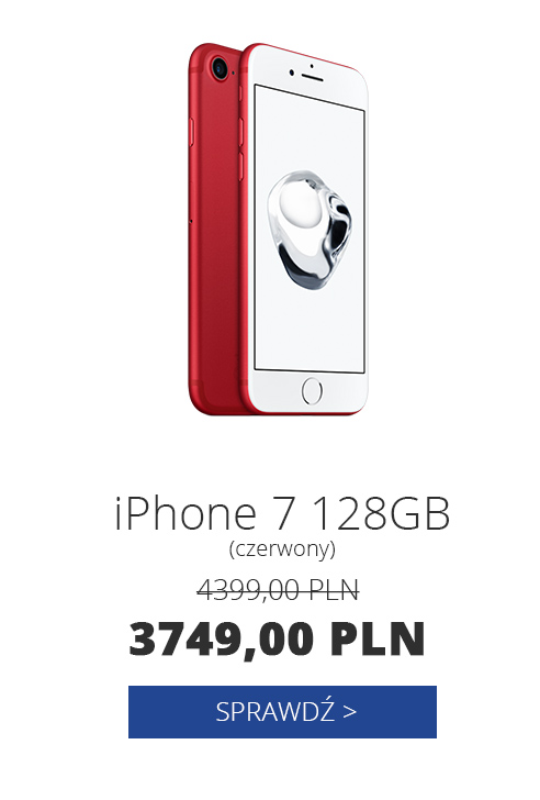 Apple iPhone 7 128GB (PRODUCT)RED Special Edition czerwony