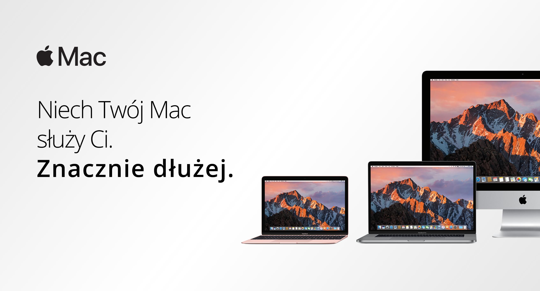 Niech Twój Mac posłuży Ci na dłużej