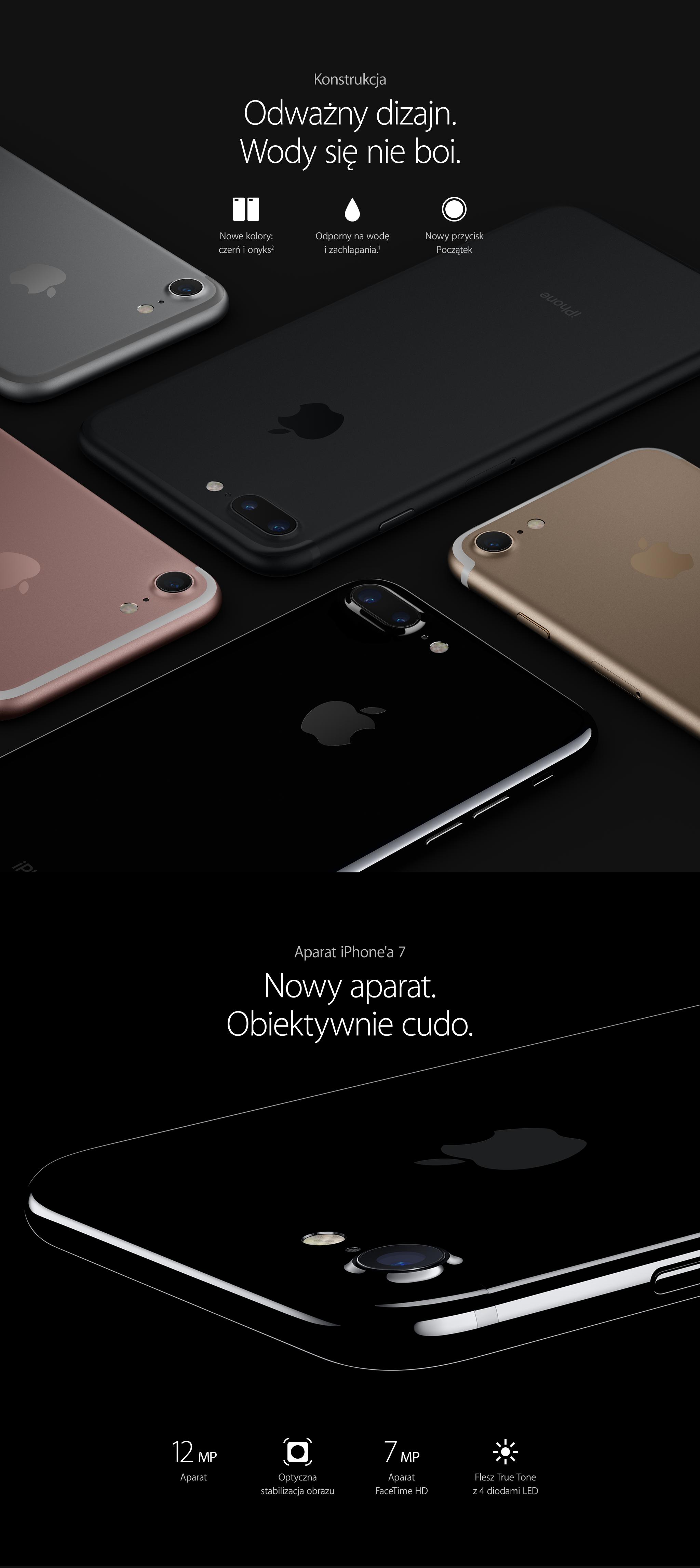 iPhone 7. Doskonałość w każdym calu.