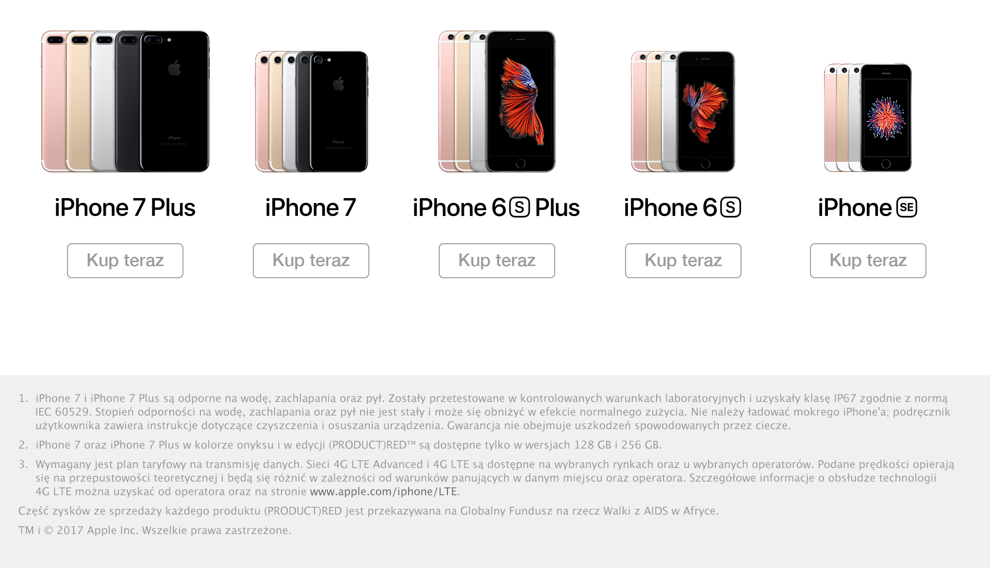 Wybierz swojego iPhone'a. Kup teraz w iDream!