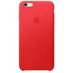 Apple Etui skórzane iPhone 6 Plus i 6s Plus czerwone