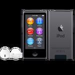iPod nano w kolorze gwiezdna szarość