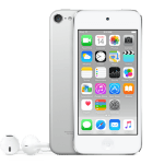 iPod touch w kolorze srebrnym