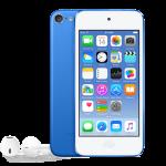iPod touch w kolorze niebieskim