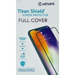 Szkło Ochronne eSTUFF TitanShield do iPhone Xs Max