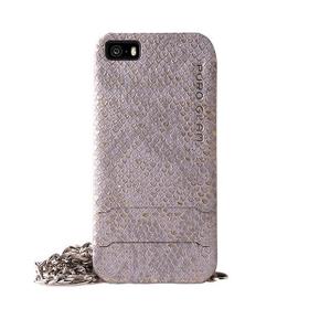 Etui Puro PURO GLAM Chain iPhone 5 i 5s szare
