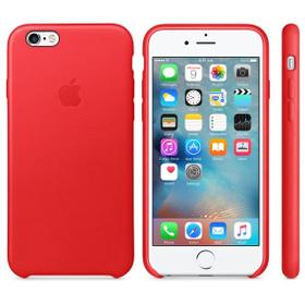 Apple Etui skórzane iPhone 6 i 6s czerwone