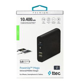 PowerBank TTEC Mega Universal 10400 mAh
