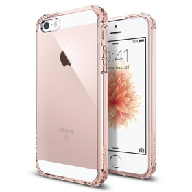 Etui Spigen Crystal Shell do iPhone SE, 5, 5s