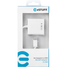 Adapter eSTUFF Mini DisplayPort - HDMI