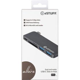Rozdzielacz USB-C Hub eSTUFF