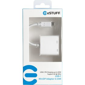 eSTUFF USB-C MiniDP Charging Adapter