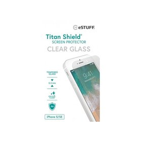Szkło Ochronne eSTUFF TitanShield do iPhone 5 5C 5S SE