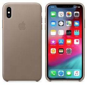 Apple Leather Case do iPhone XS Max