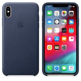 Apple Leather Case do iPhone XS