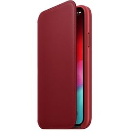 Etui Apple Leather Folio do iPhone XS