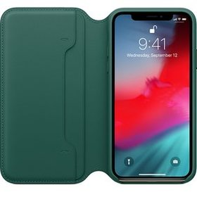 Etui Apple Leather Folio do iPhone XS