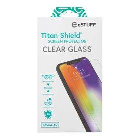 Szkło Ochronne eSTUFF TitanShield do iPhone Xr